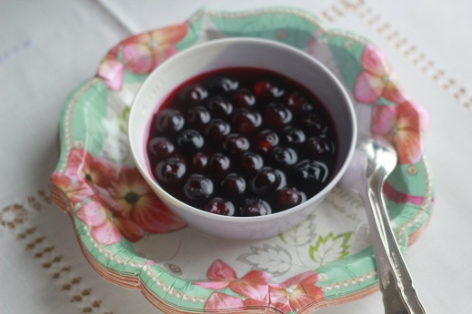Delicious Glazed Blueberries go with everythinh