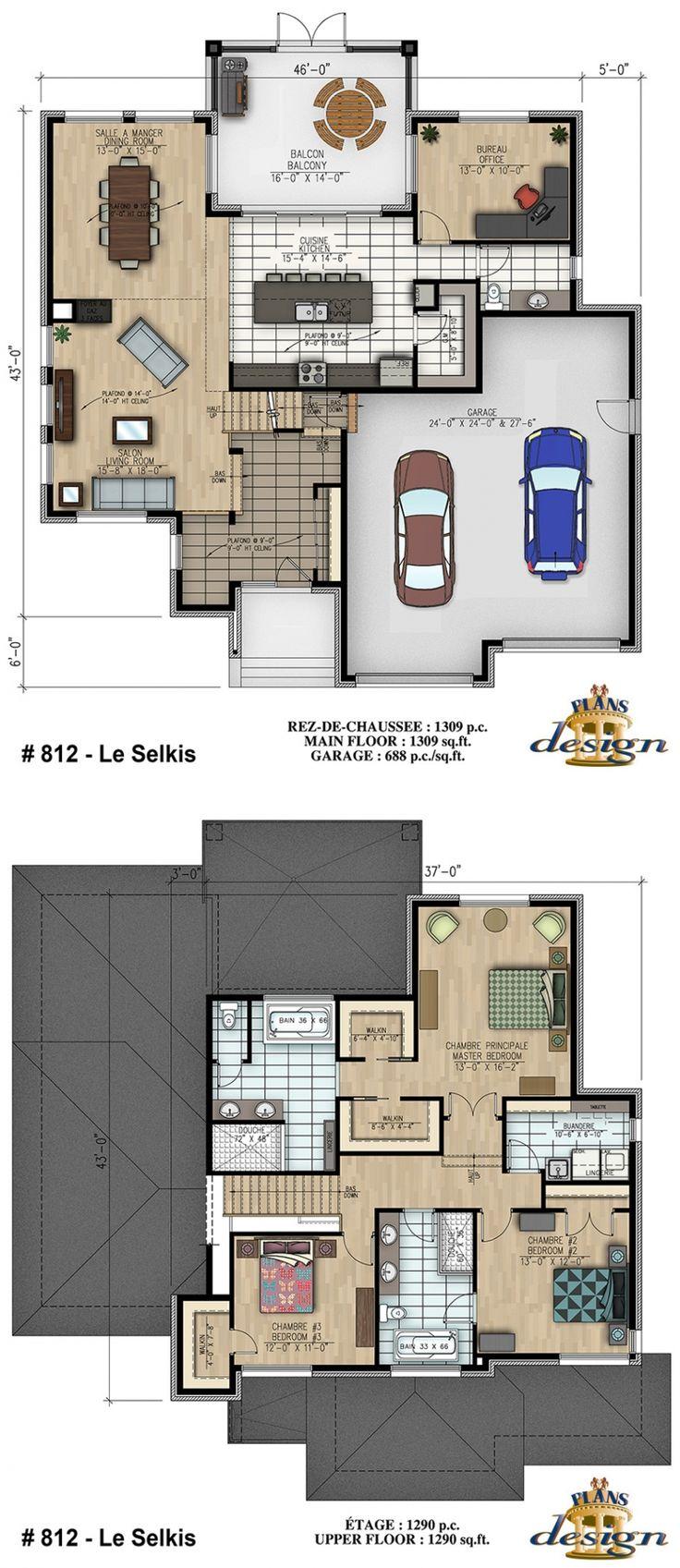 Superb 812   Le Selkis Cottage | Plans Design