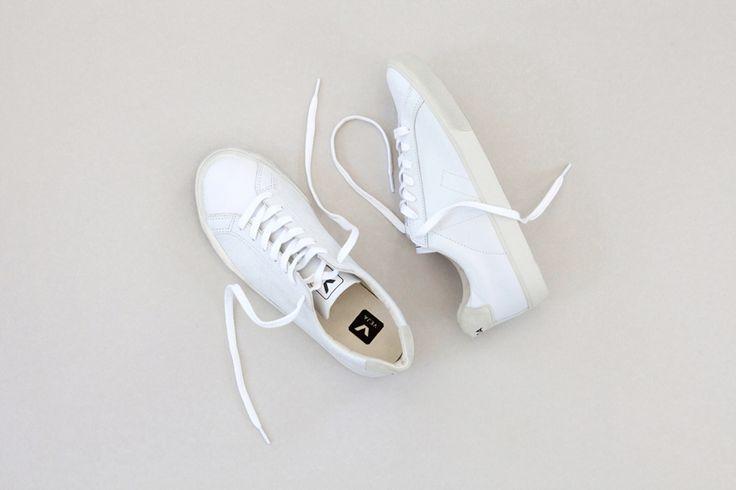 VEJA Esplar leather extra white. Available on veja.fr #veja #vejashoes #whitekicks