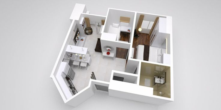 3D Design Thamrin Residence Apartment