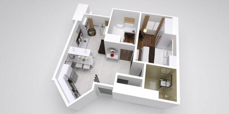 3D Design Thamrin Residence Apartment