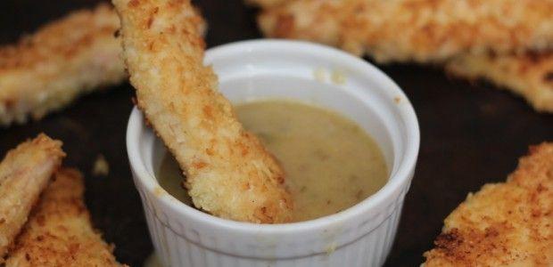 #paleo PaleOMG Crispy Chicken Dippers