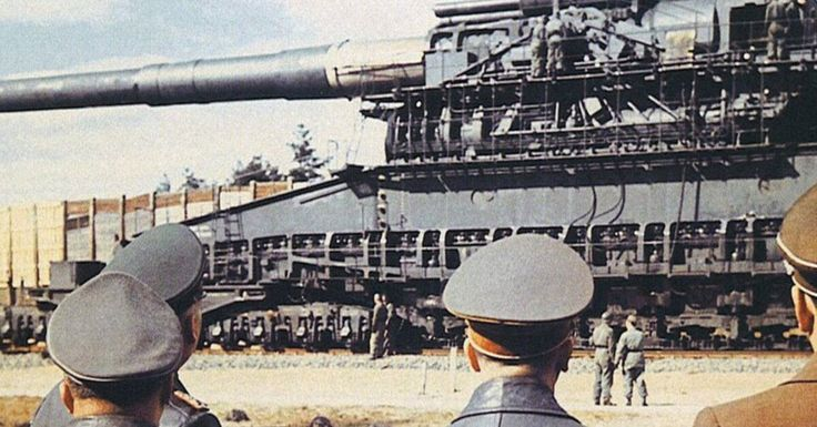 Firing The Biggest Gun Of WWII, The 80cm Railway Gun 'Schwerer Gustav' (Watch)