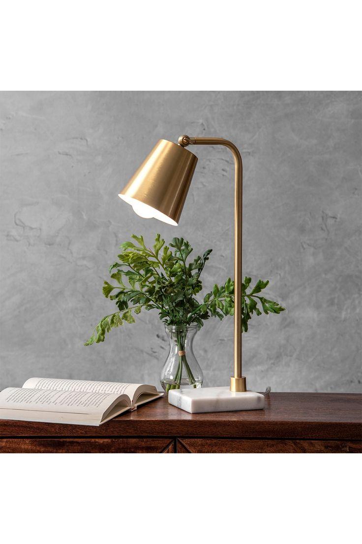 """nuLOOM 20"""" Rita Metal Shade Table Lamp Nordstrom Rack"""