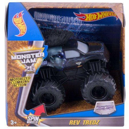 Hot Wheels Monster Jam Rev Tredz Mohawk Warrior Vehicle, Assorted