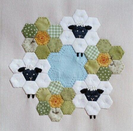 Sheep Hexies!