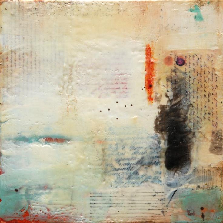 encaustic #white #paintings