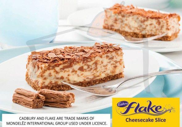 Cadbury® FLAKE® Cheesecake Slice | Priestley's Gourmet Delights