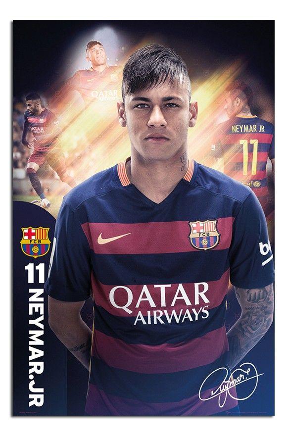 Barcelona Neymar 2015/15 Season poster