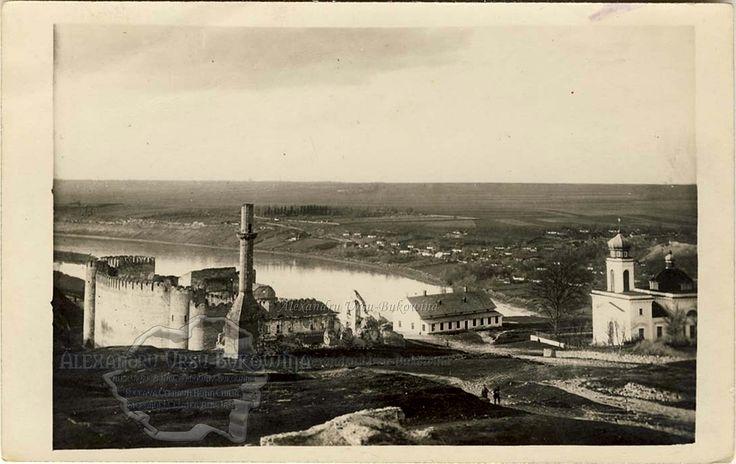 Hotin, cetatea domnitorului moldovean Ştefan cel Mare.