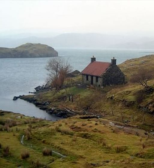 Lonesome Cottage. Well, it looks lonesome, maybe they have close neighbors.