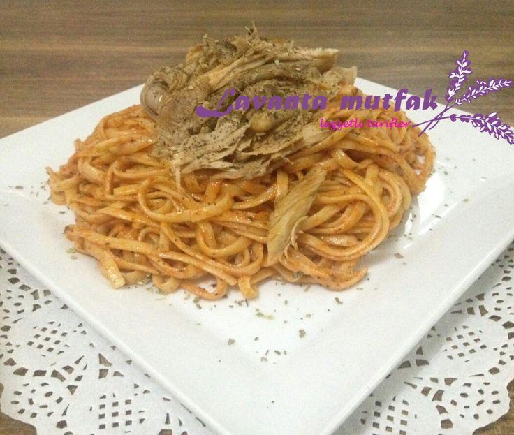Kremalı Spagetti