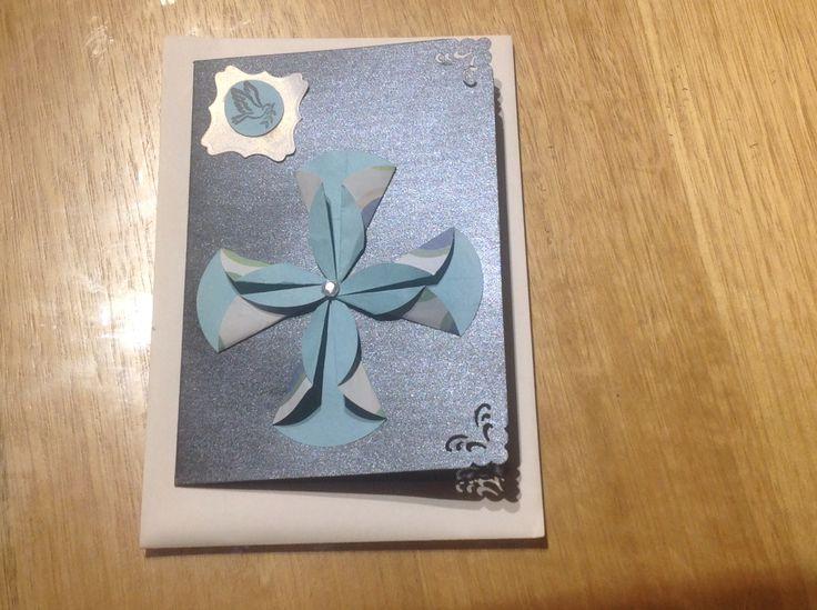 Christian's confirmation card