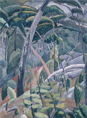Grace Cossington Smith (1892 - 1984) | Post- Impressionism| The gully - 1928