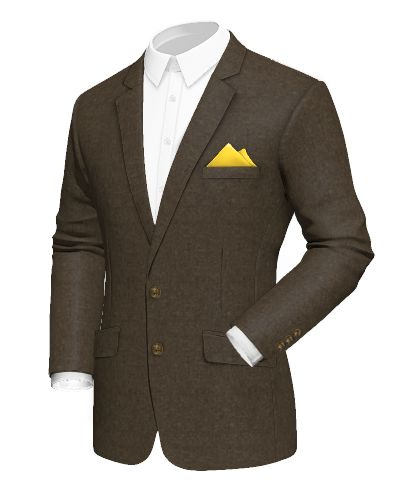 Brown cotton Blazer - http://www.tailor4less.com/en-us/men/blazers/2423-brown-cotton-blazer