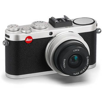 NEW ARRIVAL    Leica X2 Digital Compact Camera With Elmarit 24mm f/2.8 ASPH Lens (Silver)