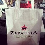 Oh aye! Sunday trip to Zapatista two weeks in a row! #mexicanfood #zapatista #burritos #bueno / 283 days ago around 7AM on Sun Jun  8 07:51:28 2014 © http://instagram.com/p/o-2cqvIP3Q/