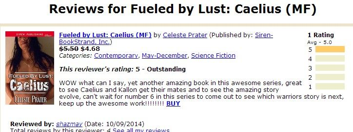 63 best celeste prater books images on pinterest romances romance reader review on bookstrand for fueled by lust caelius on my earnest reviews fandeluxe Choice Image