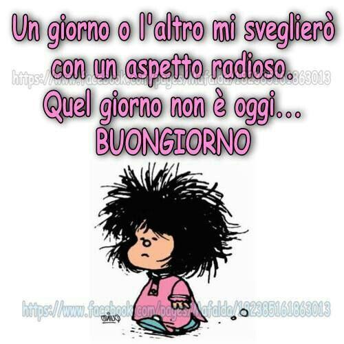 Pin di cristina su buongiorno good morning mafalda for Vignette buongiorno divertenti