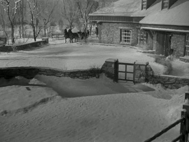"""From """"Christmas in Connecticut."""" All of my dream homes are from old movies. I love this house."""