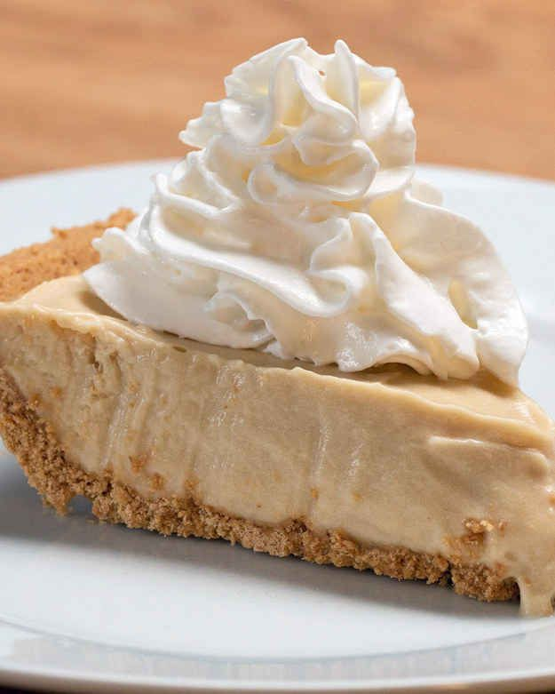 Root Beer Pie - want to try this in a gluten free crust, substituting coconut cream for the whipping cream.