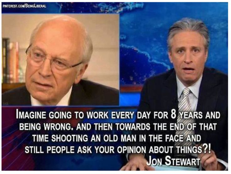 Dick cheney and severance
