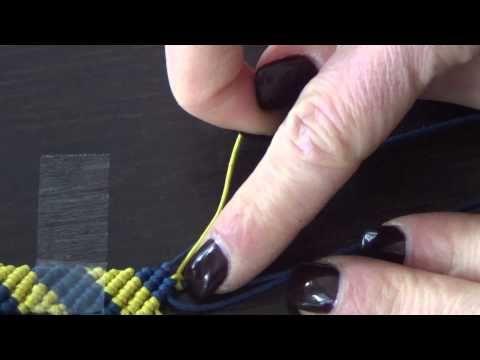 Ciao a tutte e tutti , ecco il primo video di tecnica base del macramè .Scusate la voce e il super cerotto sul dito . Materiali : filo in cotone cerato ma 1 ...