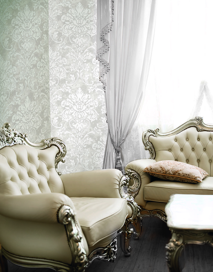 Kashmir luxury #wallcoverings designed and made in Italy. Max Martini Home