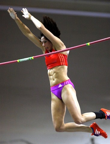 Jenn Suhr - Track and Field