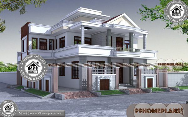 50 Wide House Plans 90 South Indian House Architecture 2 Storey Plan Architecture House House Plans Small House Elevation Design