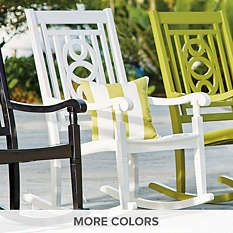 Outdoor Rocking Chairs - Outdoor Rockers - Porch Swings - Grandin Road