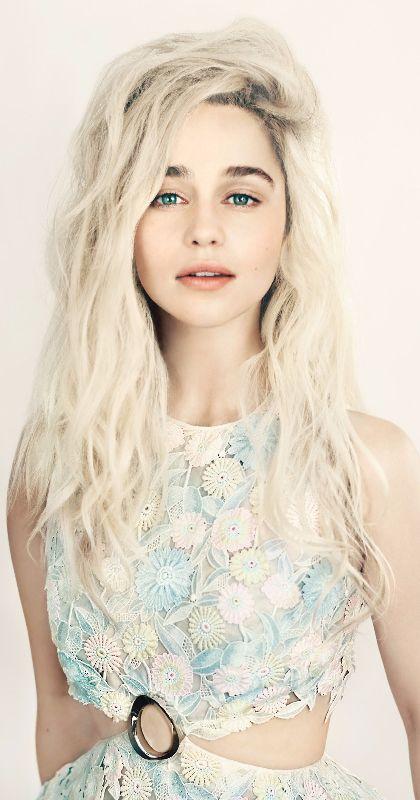 Emilia Clarke ♥ Daenerys Targaryen ♚ Game of Thrones ♚