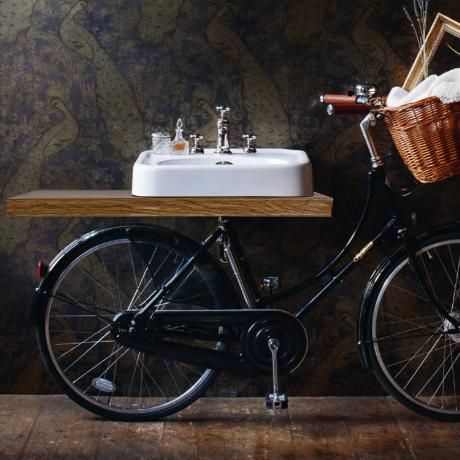 Arcade Pashley Bicycle with 600mm Basin and Mixer Tap