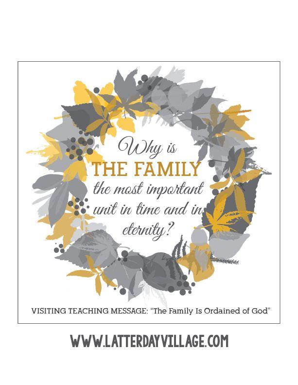 October 2016 Free Visiting Teaching Handouts - LatterdayVillage