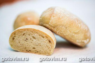 Итальянские лепешки для бутербродов (панини). Фотография рецепта