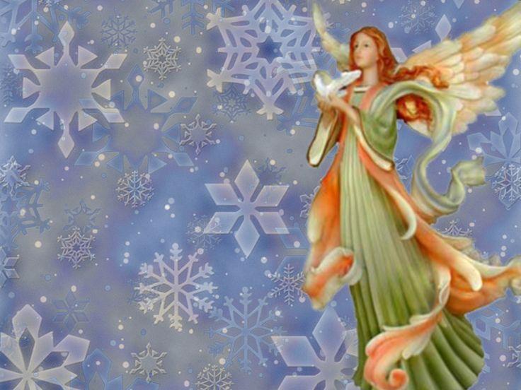 Christmas Angels | Free christmas desktop wallpaper: Christmas Angel Wallpapers