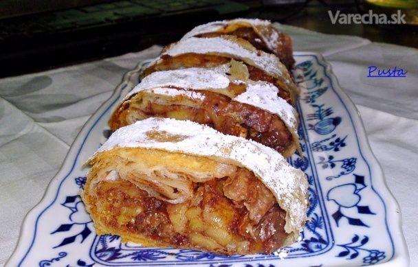 Staromaďarská jablková štrúdľa (fotorecept) - Recept