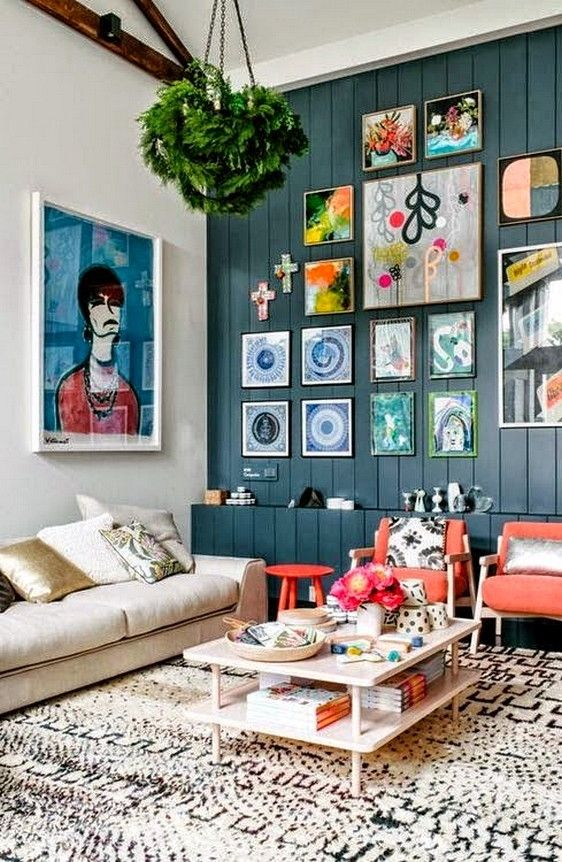 Doozie 100+ Eclectic and Quirky Living Room Decor https://decorspace ...