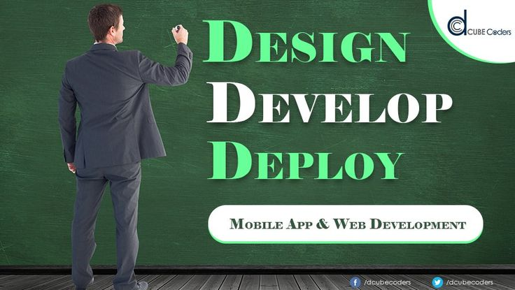 We Beleive in End To End Solutions So We Design-Develop - Deploy : DCube Coders