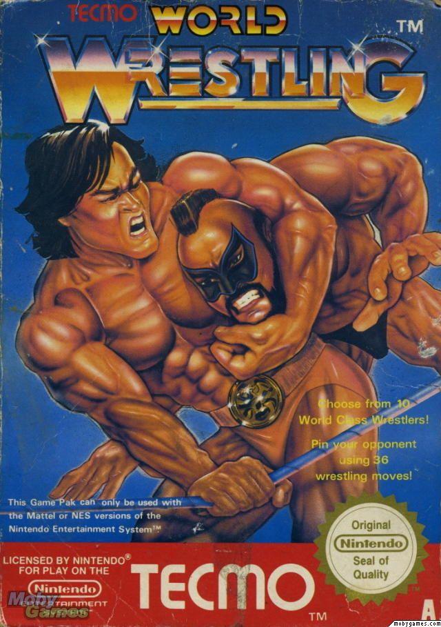 Wrestling game cover Art   World Wrestling