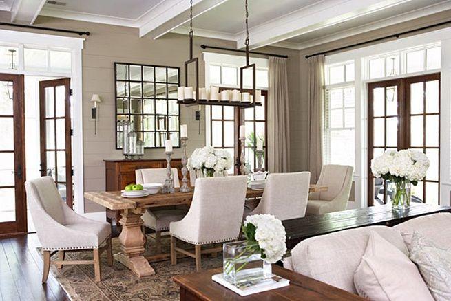 inspiracje w moim mieszkaniu: Tapicerowane krzesła do jadalni