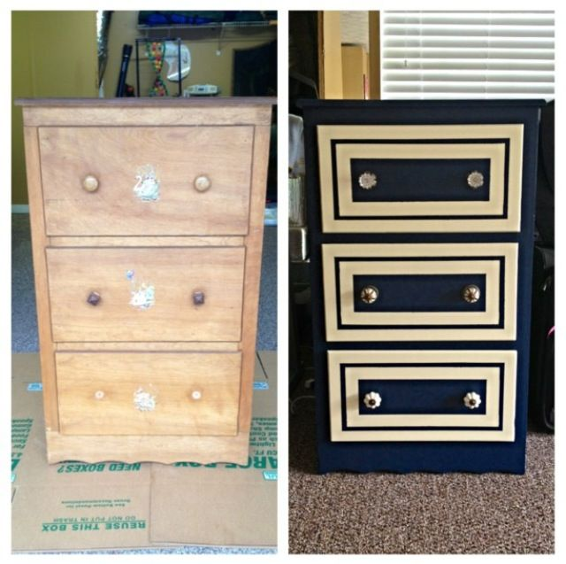 Furniture Makeover Before After Done By Miss Lara