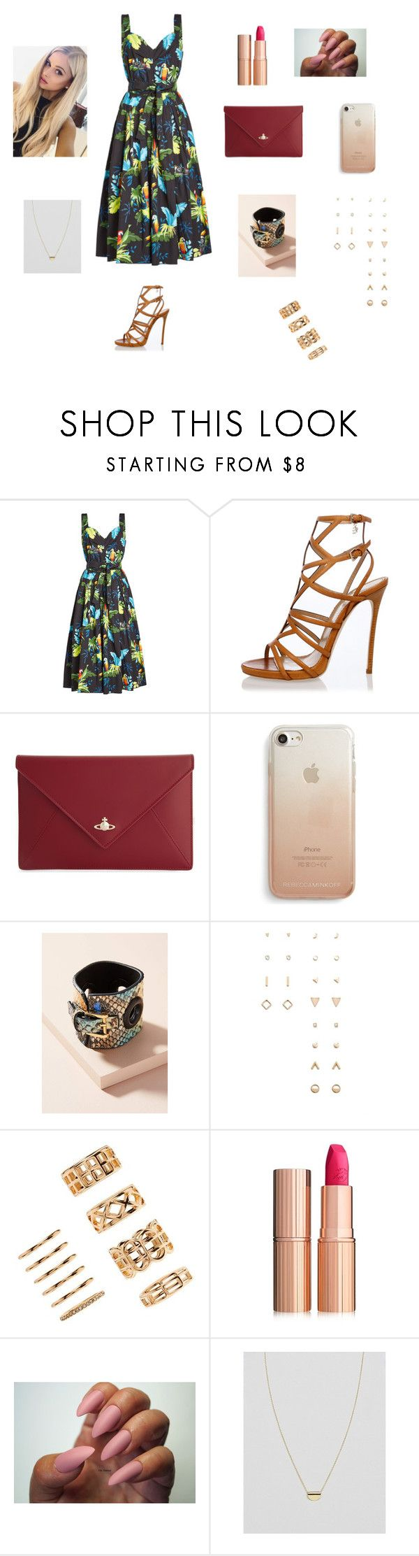 """""""🌝🌝"""" by aiea ❤ liked on Polyvore featuring Marc Jacobs, Dsquared2, Vivienne Westwood, Rebecca Minkoff, Nora Lozza, Forever 21, Charlotte Tilbury and ASOS"""
