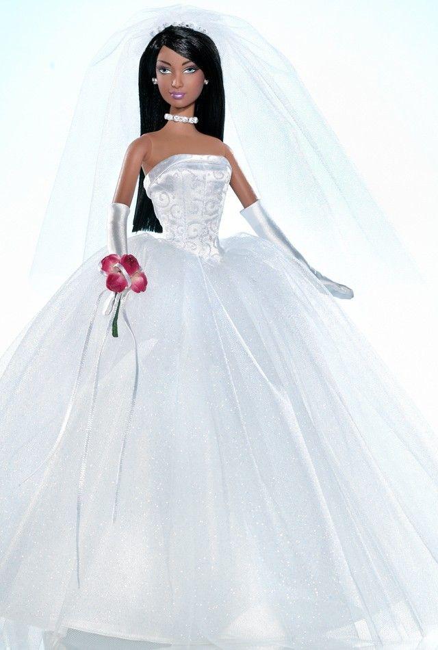 137 Best Black Barbie Bride 39 S Images On Pinterest Black