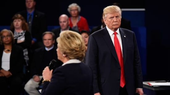 The composer Danny Elfman soundtracked footage from the Trump Clinton debate with a horror film score.