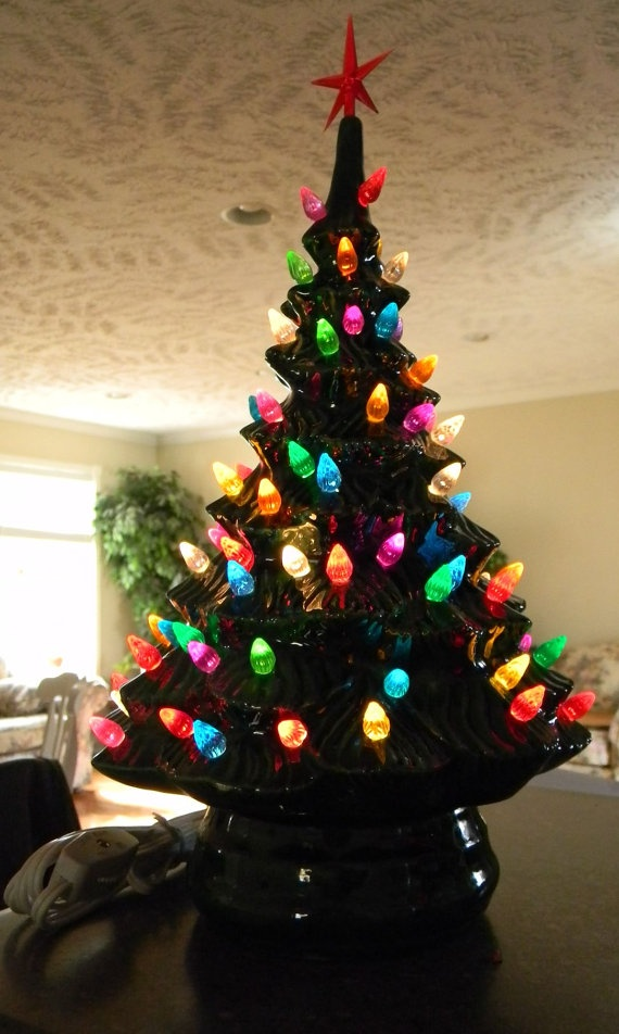 74 best Ceramic christmas trees i love images on Pinterest ...