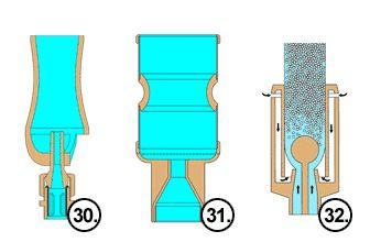 Tobera con Arrastre de Agua para fuentes ornamentales
