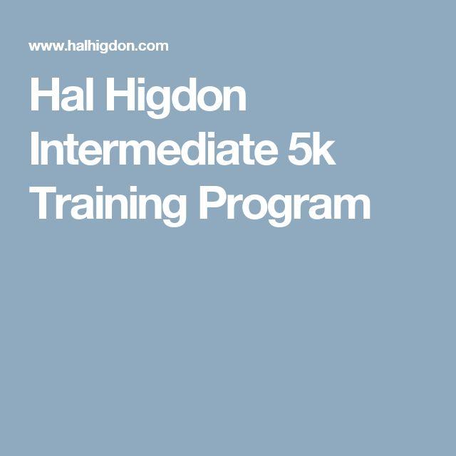 Hal Higdon Intermediate 5k Training Program