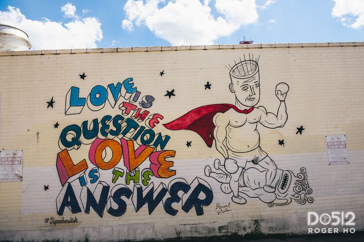 1000 images about atx art scene on pinterest for Daniel johnston mural austin