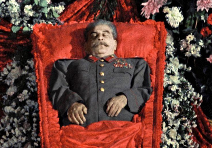 65летназад отинсульта умер Иосиф Сталин. =В нашей семье о смерти этой, считаю, твари никто не рыдал. Двоих расстреляли по лживому обвинению в шпионаже на Латвию, мать моей бабушки на десять лет отправили на Колыму. Бабушка, которой на момент ареста было 11 лет, мыкалась по съёмным квартирам с полуглухой, полуслепой её бабушкой. Спасибо Сталину и его НКВДистским выродкам за это (путену привет)